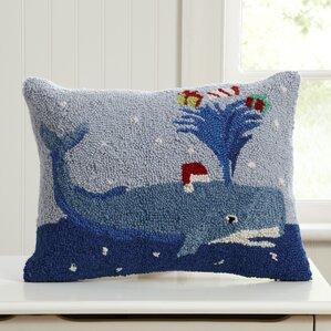Santa\u0027s Helper Hooked Pillow & Rectangular Decorative Pillows You\u0027ll Love   Wayfair pillowsntoast.com