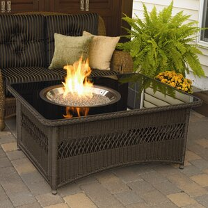 Natural Gas Outdoor Fireplaces & Fire Pits You'll Love | Wayfair