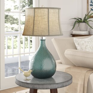 sapphire glass table lamp - Living Room Table Lamps