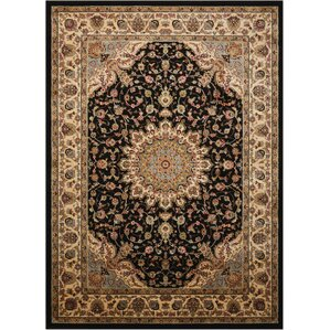 Black Area Rugs black rugs you'll love | wayfair