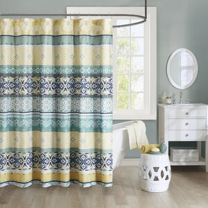 Bickford Printed Shower Curtain