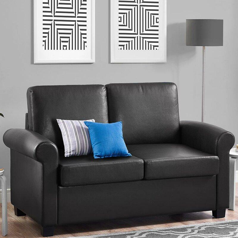 Ahumada Twin Sleeper Sofa Bed Loveseat