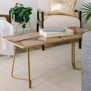 Emanuela Carratoni Seamless Lines Coffee Table by East Urban Home