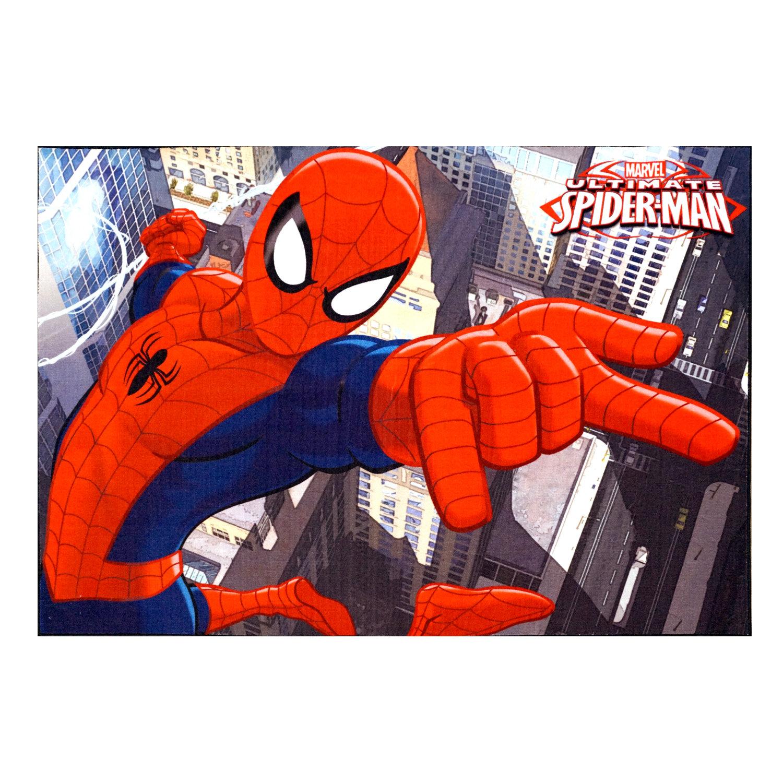 G A Gertmenian Sons Marvel Spiderman Polyester Red Blue Kids Rug Reviews Wayfair