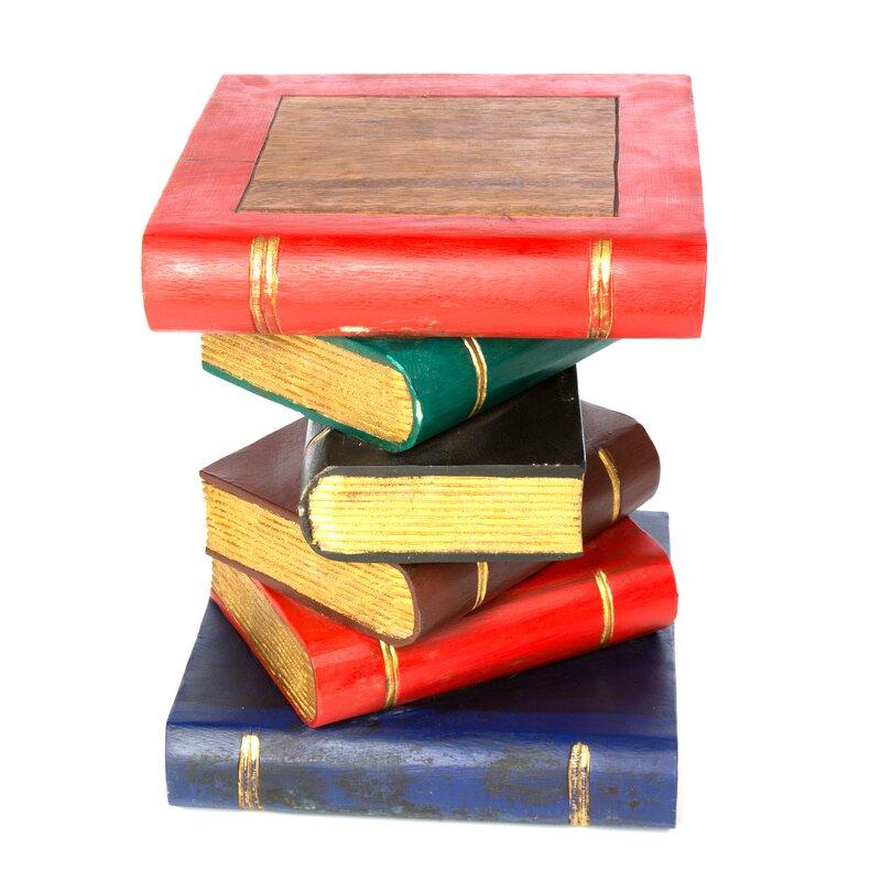Remarkable Bookstack Side Table Download Free Architecture Designs Fluibritishbridgeorg