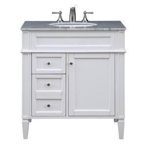 Kendra 32  Single Bathroom Vanity Set Vanities Joss Main