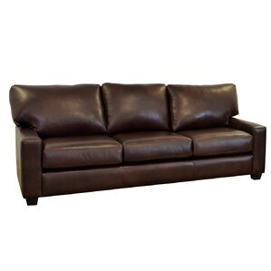 Kenmore Studio Genuine Top Grain Leather Sofa