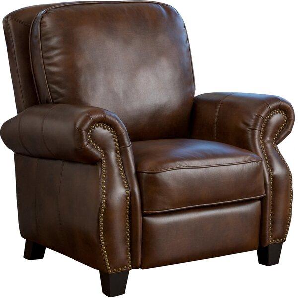 Bon Real Leather Recliner Chair | Wayfair