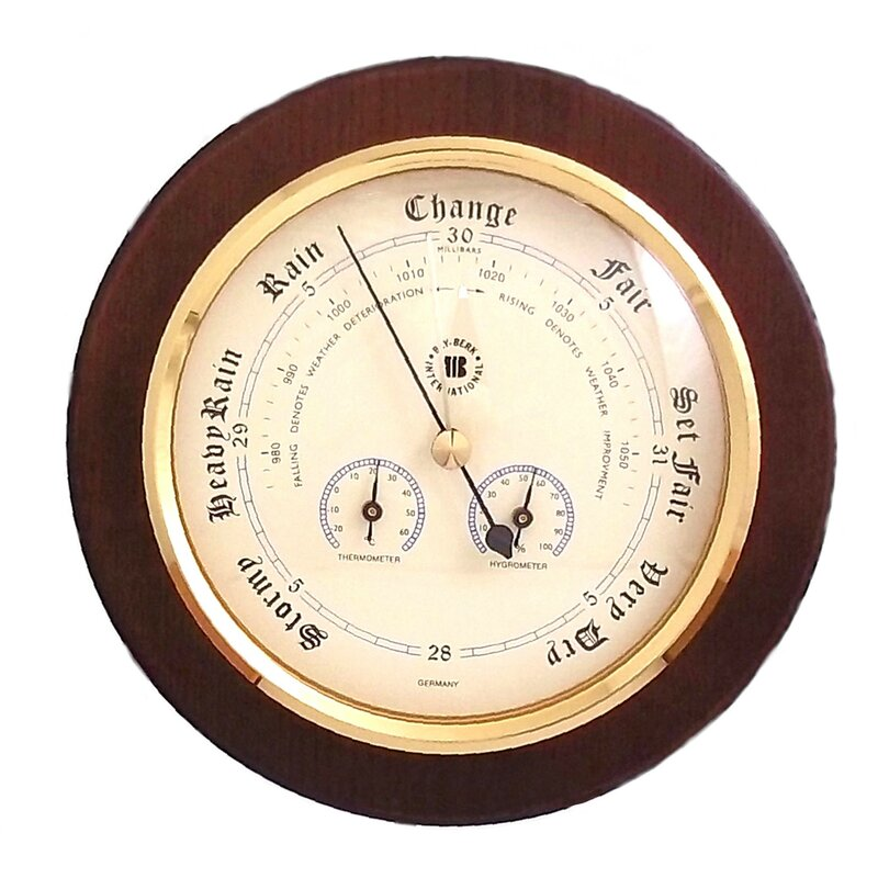 Bey Berk Barometer Thermometer And Hygrometer Amp Reviews