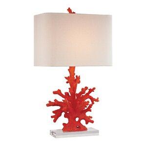 Coral Color Lamp   Wayfair