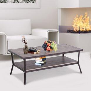 Two Tier Glass Coffee Table Wayfair - Grey wood and glass coffee table