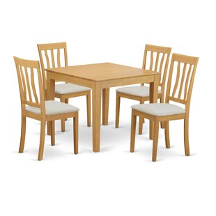 Cobleskill 5 Piece Dining Set