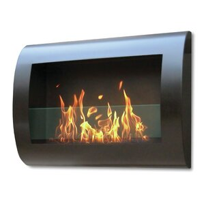 Chelsea Wall Mount Bio-Ethanol Fireplace by ..