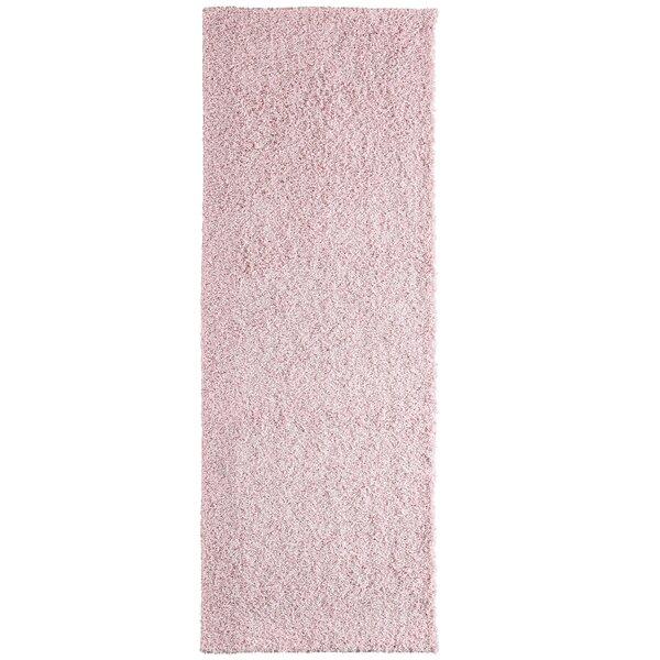 Imagine Rugs Modern Blush Shag Pink Area Rug & Reviews