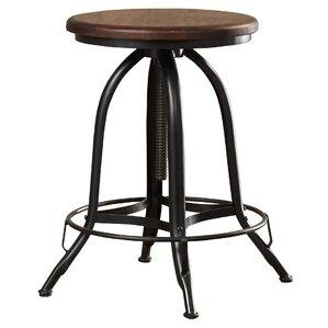 Nevada Adjustable Height Swivel Bar Stool