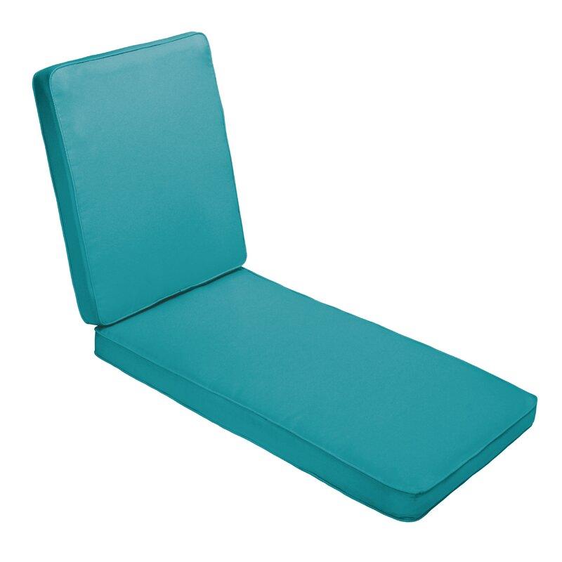 red barrel studio hinged outdoor chaise lounge cushion wayfair