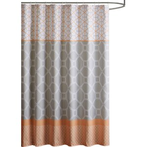 Captivating Vernetta Microfiber Shower Curtain