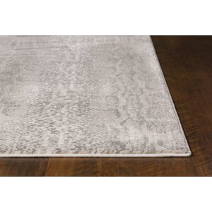 Deering Taupe/Gray Area Rug
