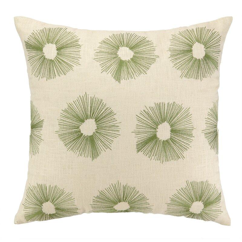DL Rhein Etoile Embroidered Decorative Linen Throw Pillow Wayfair New Etoile Throw Blanket
