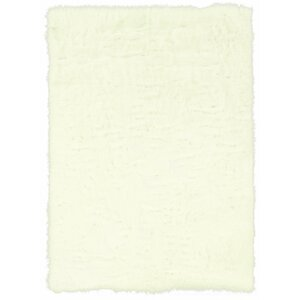 Francille Hand-Tufted White Area Rug