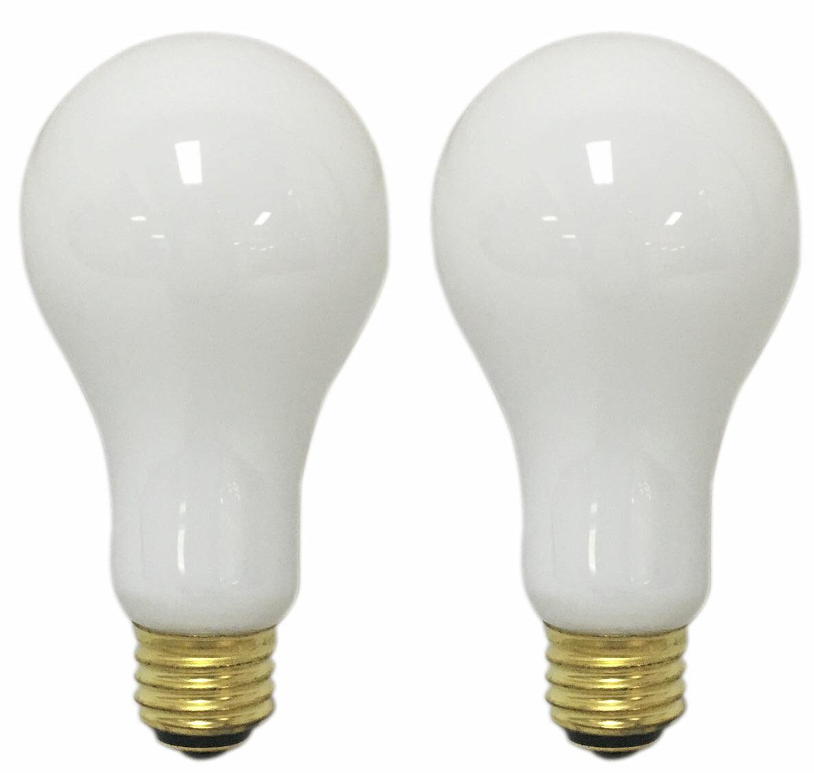 150 Watt A19 Incandescent Non Dimmable Light Bulb E26 Medium Standard Base