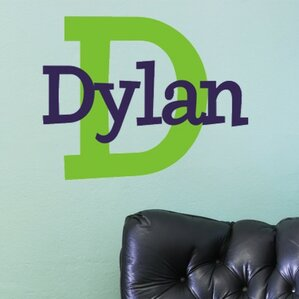 dylanu0027s preppy wall decal
