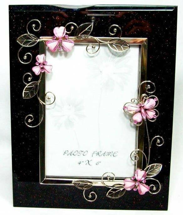 Astoria Grand Seodat Butterfly Picture Frame | Wayfair