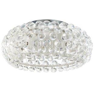 Disco ball ceiling light wayfair mitchel ceiling fixture 2 light flush mount aloadofball Images