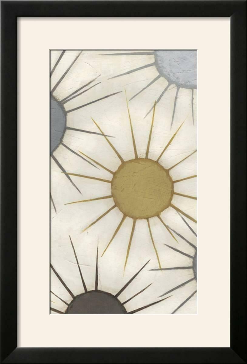 Ebern Designs \'Starburst Triptych III\' Framed Graphic Art Print ...