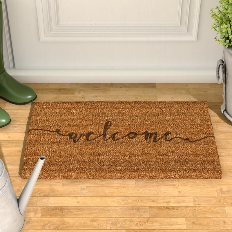 Delicieux Amettes Coir Doormat