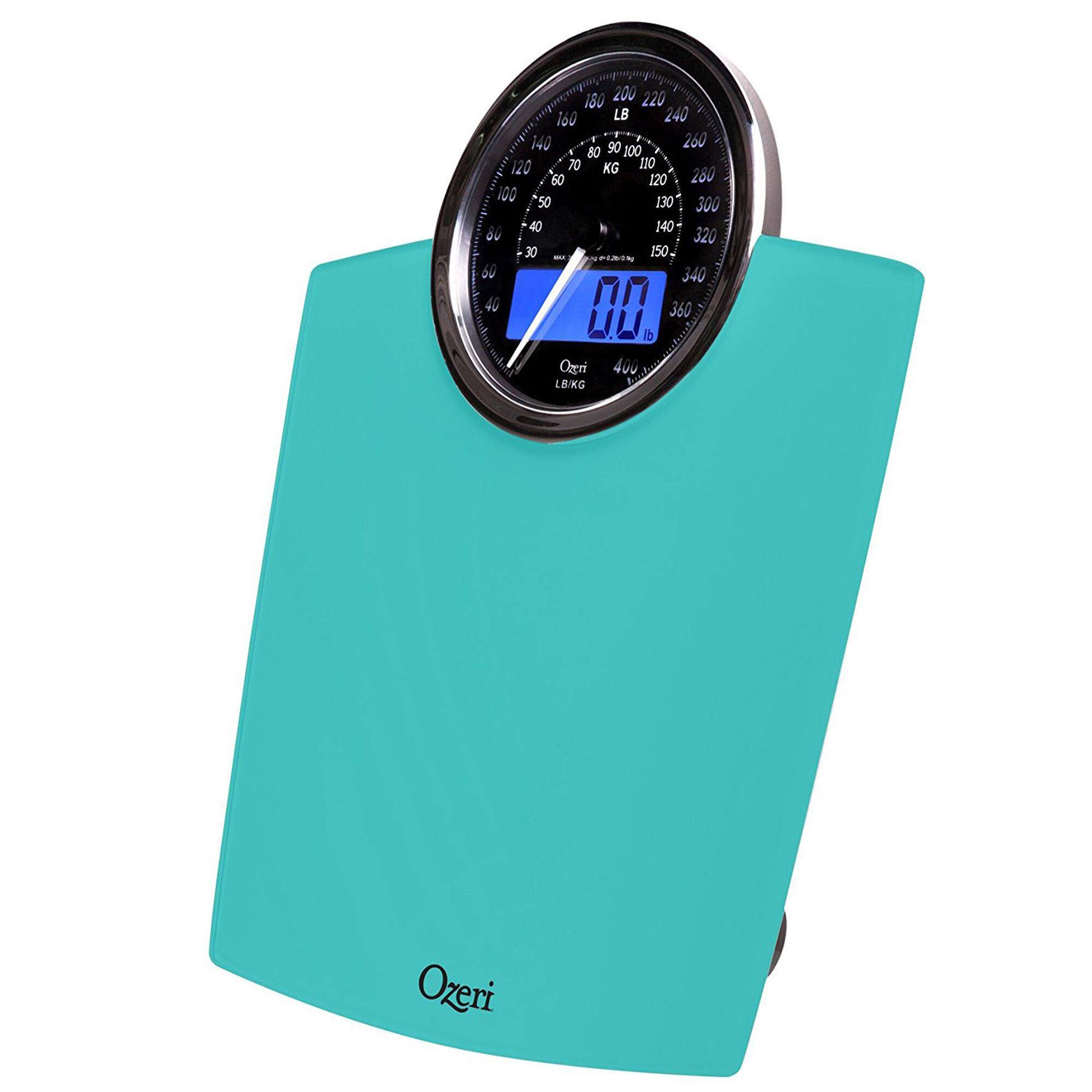 Ozeri Rev Digital Bathroom Scale with Electro-Mechanical Weight Dial & Reviews | Wayfair