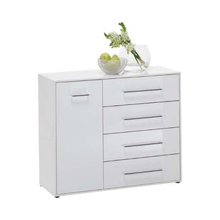 Chamlee 1 Door 4 Drawer Combi Chest by Wildon Home