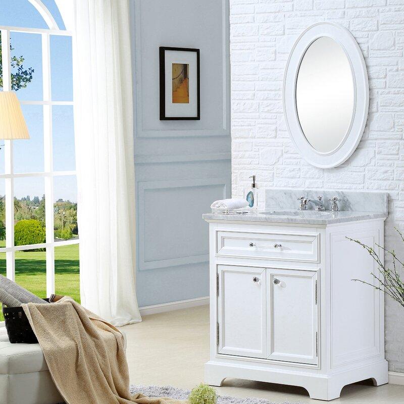 single sink white bathroom vanity. colchester 30\ single sink white bathroom vanity