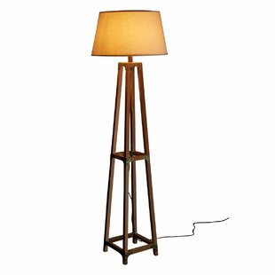 Cottage country floor lamps wayfair ambrose 150cm column floor lamp aloadofball Images