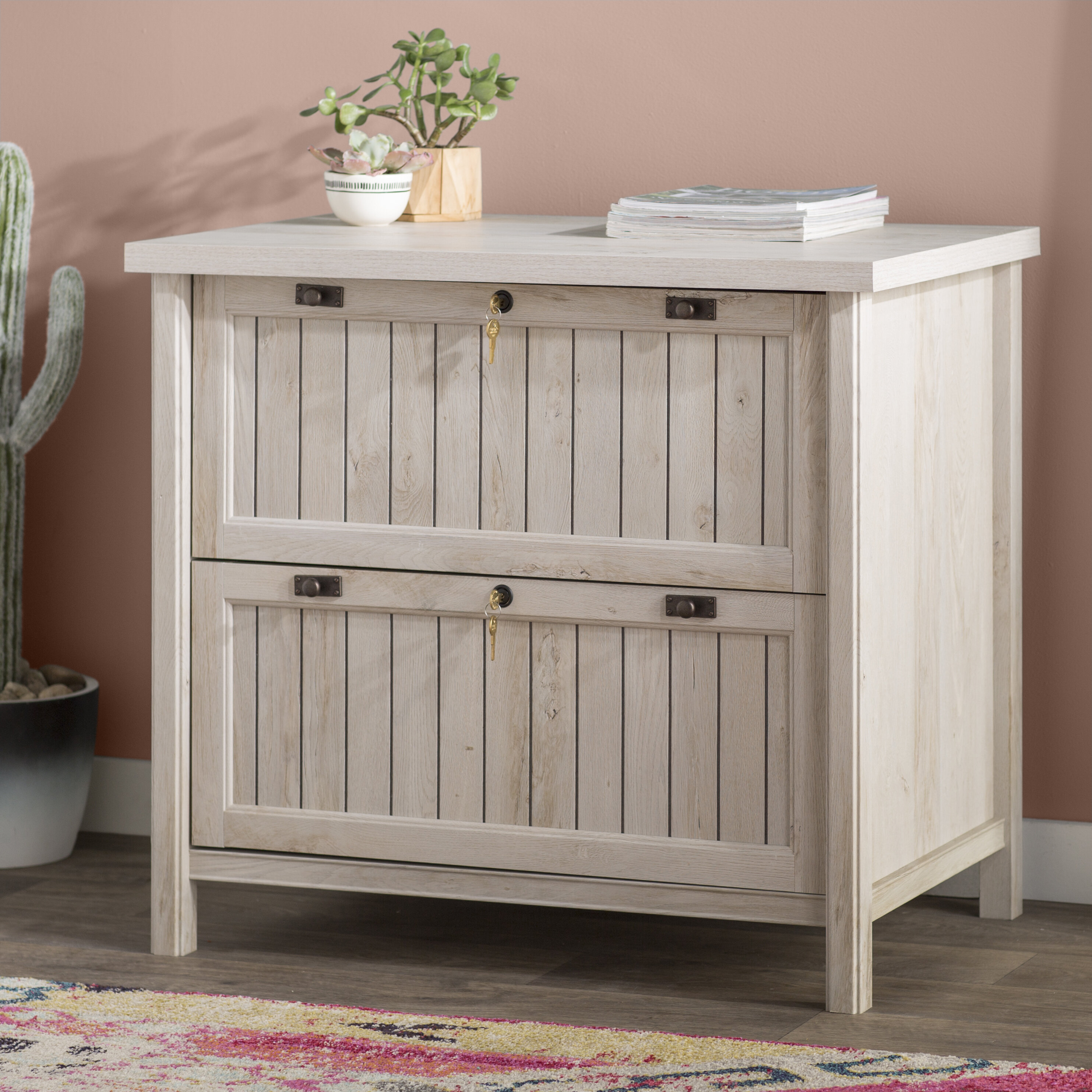 Laurel Foundry Modern Farmhouse Shelby 2 Drawer Lateral Filing Cabinet Reviews Wayfair