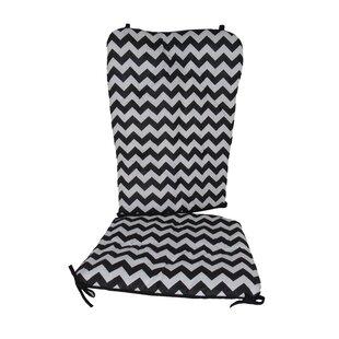 Superbe Black Toile Chair Cushions | Wayfair