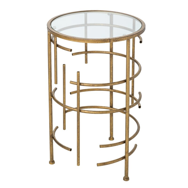 Pleasing Aiyana End Table Interior Design Ideas Ghosoteloinfo