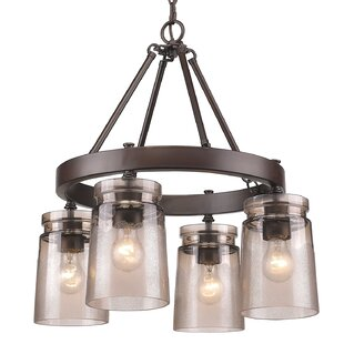 Extra large lantern chandelier wayfair rock river 4 light chandelier mozeypictures Choice Image