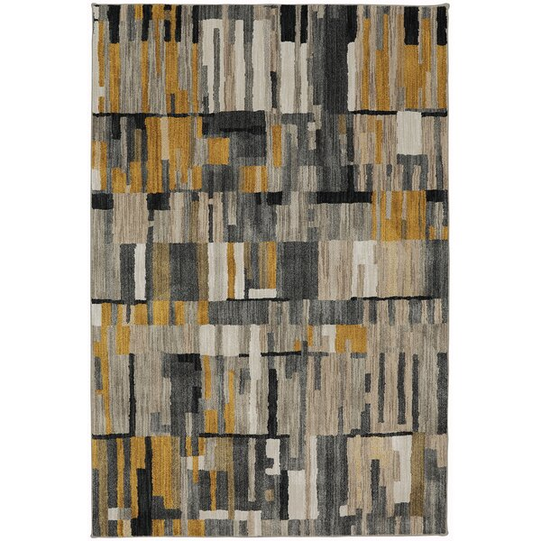 Relatively Muse Mustard Yellow Area Rug | AllModern XB67