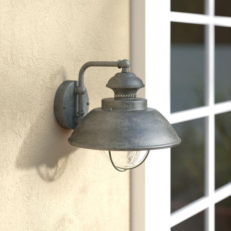 Beachcrest Home Archibald Outdoor Barn Light & Reviews