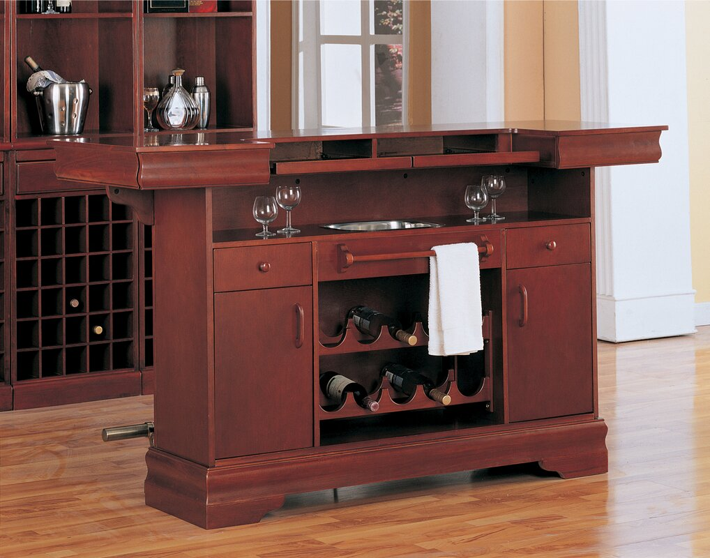 Astoria Grand Garrard Home Bar Reviews Wayfair