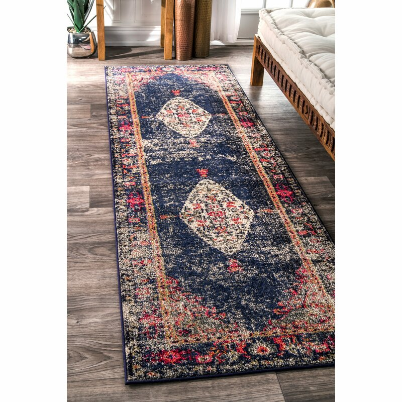Paradiso Navy Area Rug Amp Reviews Joss Amp Main