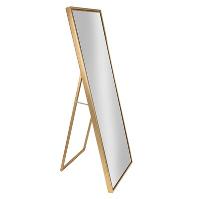 Mercury Row Loeffler Full Length Mirror Finish: Gold