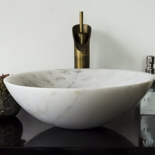 Save. Y Decor. Brielli Stone Circular Vessel Bathroom Sink