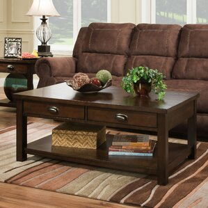 Burley Rectangular Coffee Table by Simmons Casegoods by Alcott Hill