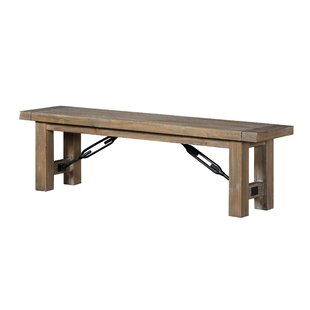 Ovalle Wood Bench