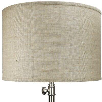 Fenchel shades 18 burlap drum lamp shade wayfair 18 burlap drum lamp shade aloadofball Images