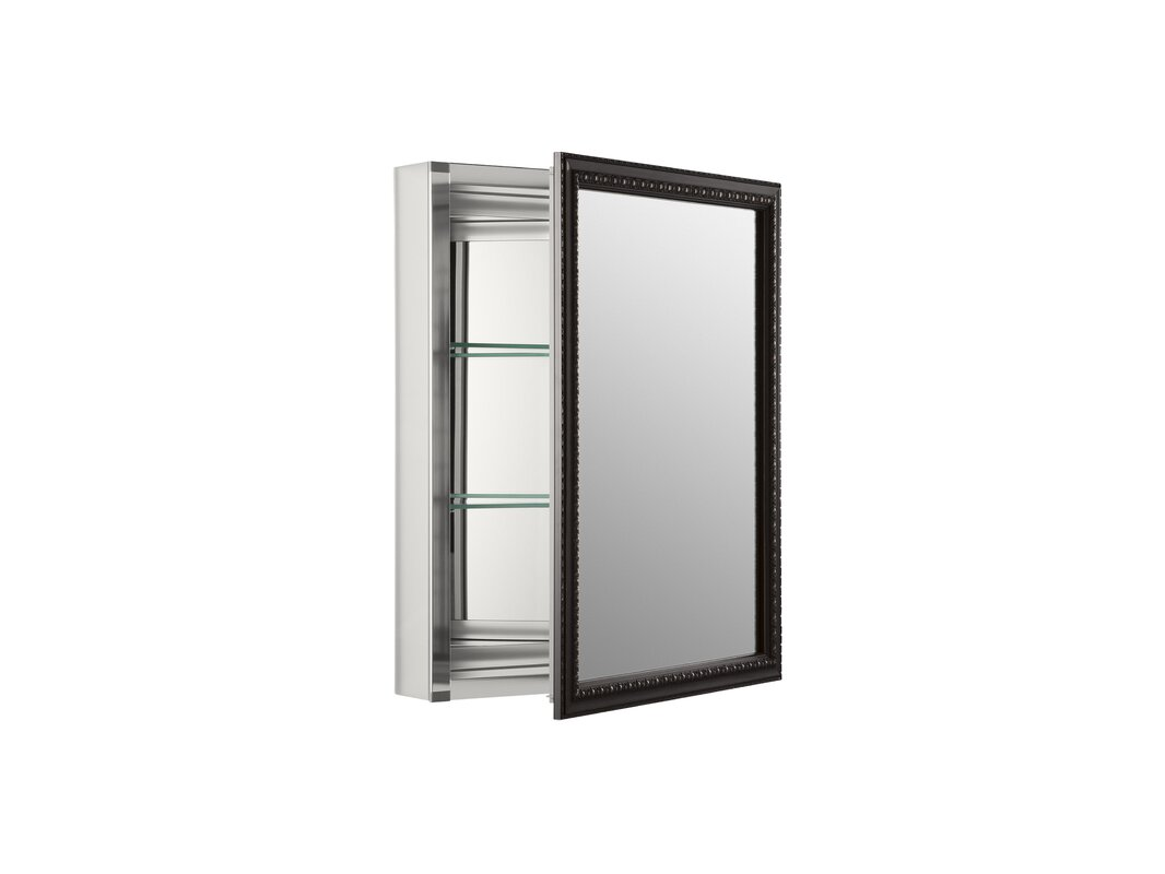 """Kohler 20"""" X 26"""" Wall Mount Mirrored Medicine Cabinet With"""
