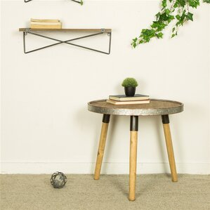 Pieper Round End Table by Gracie Oaks