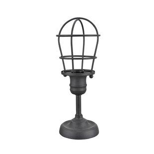 Wire cage lamp wayfair kiyoko wire cage metal 115 table lamp greentooth Choice Image
